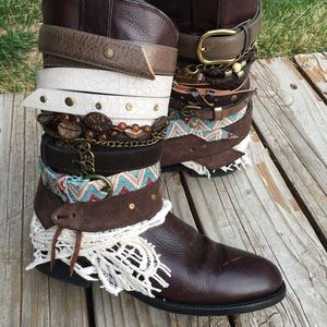 71b2550a4c5 Boho UPCycled Cowgirl Boots